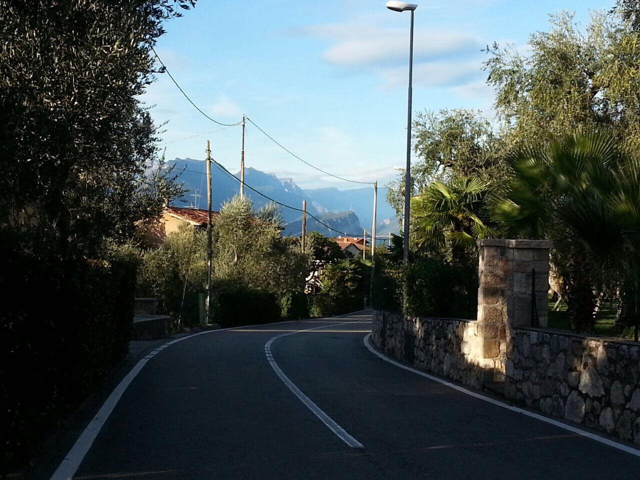 Straße, Südeuropa