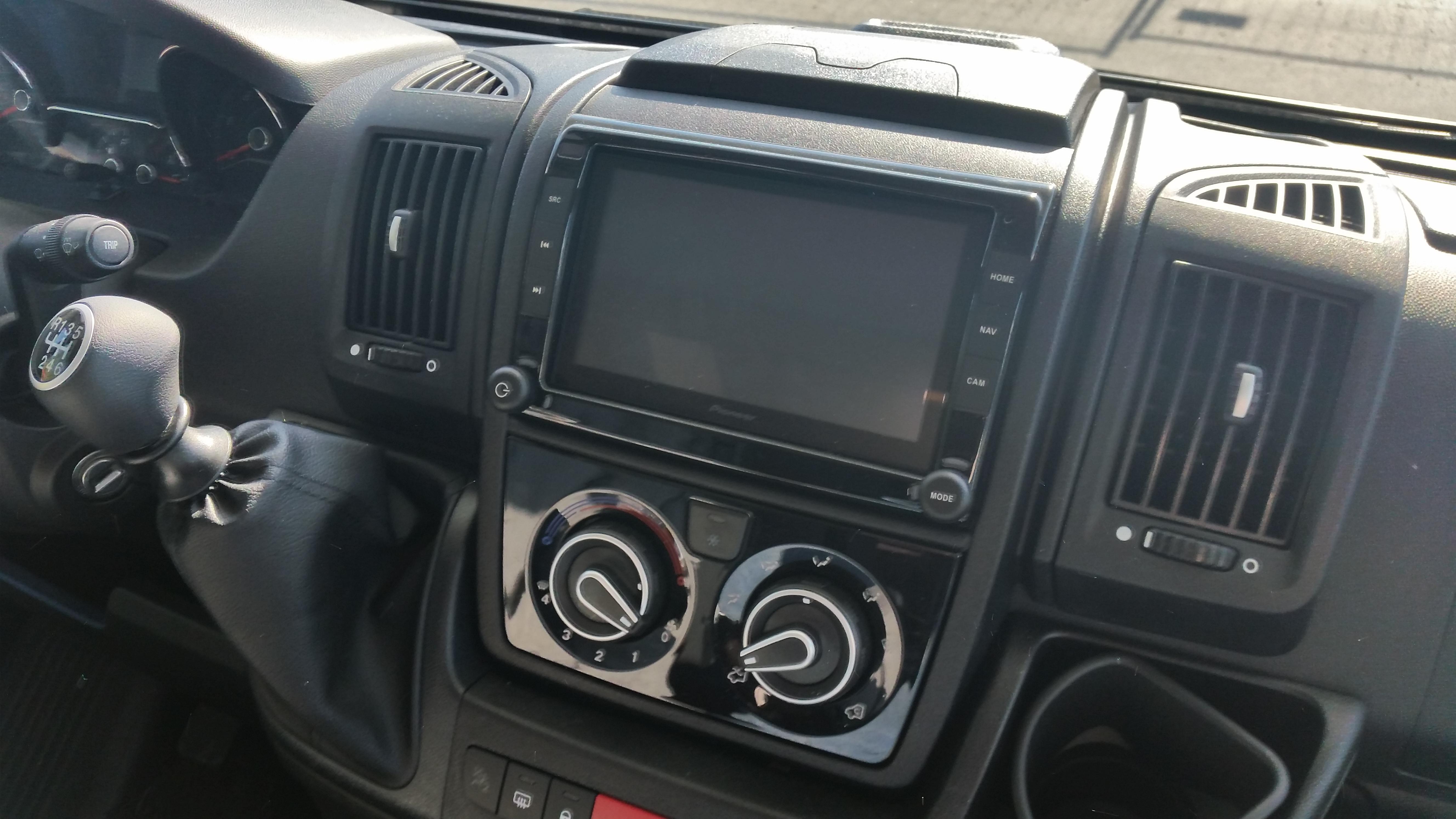 Fahrerhaus Bildschirm